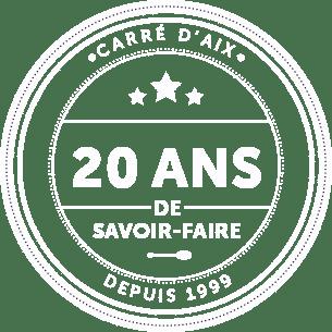 Logo 20 ans de savoir faire