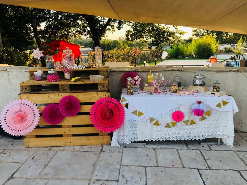 Décoration tables mariage originales