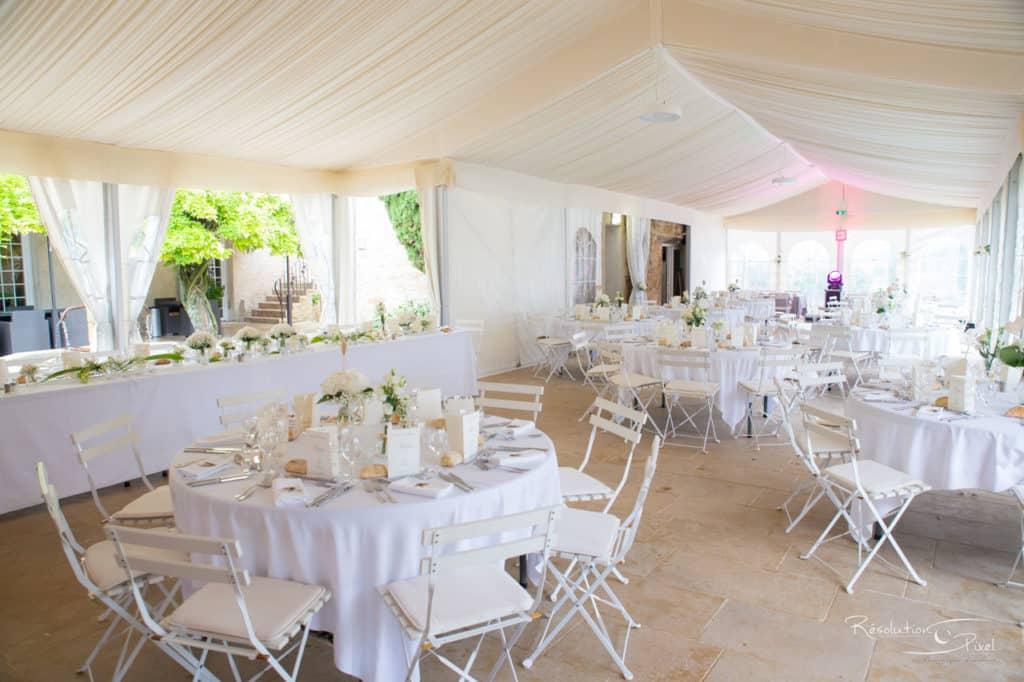 Mariage : décoration des tables