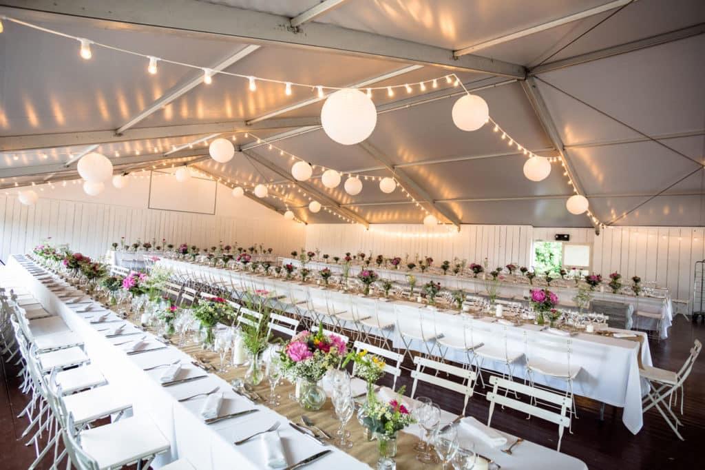 Mariage tables cérémonie de mariage
