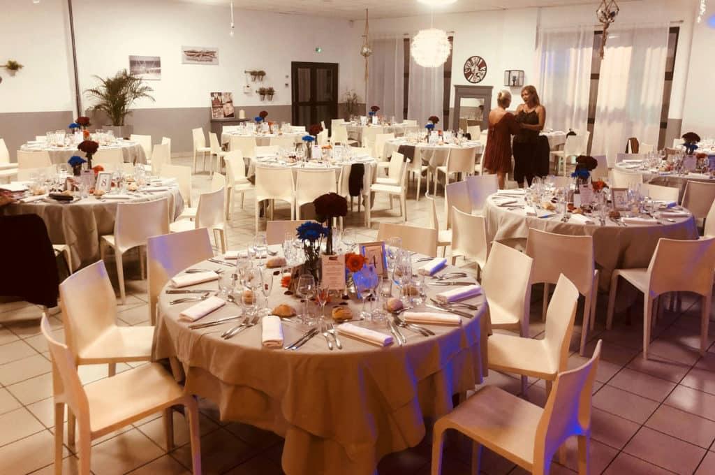 Salle du restaurant Carré d'Aix